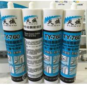 Buy Semi - Transparent Non Corrosive Bathroom Silicone Sealant for shower at wholesale prices