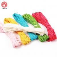 Quality 1.5mm Diameter 2 Plies Twisted Paper Rope For Decoration And Craft for sale
