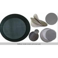 Buy Circle extruder screens in single or multilayer keep particles out/filter disc at wholesale prices