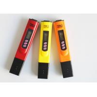 China Red Orange Yellow White Blue TDS Meter Tester , Water Purity Test Meter on sale