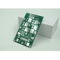 Quality 2W Green Solder Mask LED PCB Board Aluminum Based High Thermal Conductivity for sale