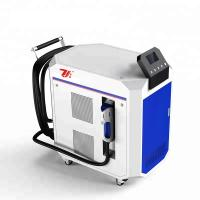 Quality Paint Removal Laser Cleaning Machine , Laser Metal Cleaner Air Cooling for sale