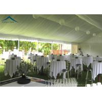 Quality European  Style Aluminium Frame Party Tents With Roof Linings And Curtains for sale