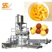 China Industrial Maize Puff Making Machine Raw Material Maize Rice Wheat Flour on sale