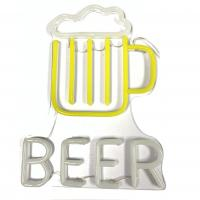 Buy cheap Neon Beer Signs for Man Caves Neon Beer Lights Personalised Neon Light Sign from wholesalers