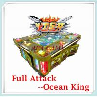 Quality 8P IGS Full Attack ocean king classical fish shooting arcade gambling fishing hunter game machine for sale