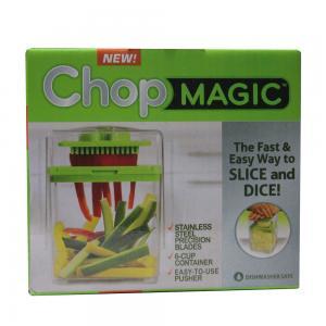 Quality Produce Fruit Vegetable Slicer Chop Magic Kitchen Nicer Dicer Mince garlic for sale