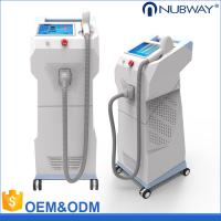 Quality vertical 808nm diode laser hair removal machine with 600w imported Germany laser bar for sale