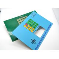 Quality Durable Multi Keys PCB Membrane Switch for Telecommunication Equipment for sale