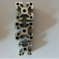 Quality Clear / Silver Extrusion Industrial 6005 Aluminum Profile , Alum Extrusion Profile For Windpipes for sale
