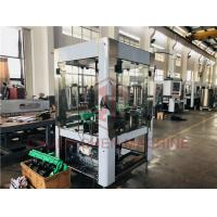 Quality 4 Head Aluminum Can Filling Screw Capping Machine Bottled Water Manufacturing Machine for sale