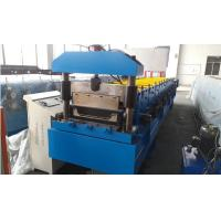 Quality Roof Panel Standing Seam Roll Forming Machine With Rib And Electrical Seaming Machine for sale