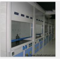 Quality Stainless Steel Feet FRP Fume Hood Cupboard 800-1000mm Door Opening Height for sale