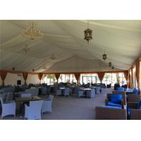 Quality Fire Resistant 15mx60m Unique Outdoor Party Tents High Peak Marquee for sale