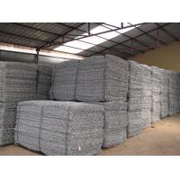Quality Gabion Mesh Cages , Welded Gabion Baskets Easy Assemble Galvanized River Protection for sale