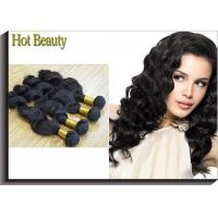 Quality Body Wave Virgin Human Hair Extensions Body Wave , Can be Straightened , Dyed for sale