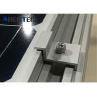 Quality Durable Aluminium Solar Roof Mounting Systems Pv End Clamp Customized Dimensions for sale