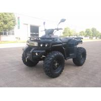 China 3KW 72V Motor Electric Utility ATV 4x4 Wheels With Shaft Drive , Black on sale