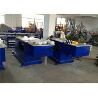 Buy Air Duct Hydraulic Elbow Pipe Machine With Two Working Positions With PLC System at wholesale prices
