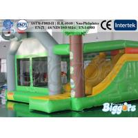Quality Indoor Commercial Inflatable Bouncers Jungle , Funny Kids Combo Games for sale
