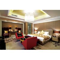 Luxury Kingsize Hotel Bedroom Furniture Presidential Suite Silver Oil Decorate