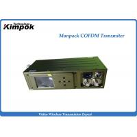 Quality HDMI / HD-SDI Wireless COFDM Video Transmitter for Broadcast and Command Vehicle for sale