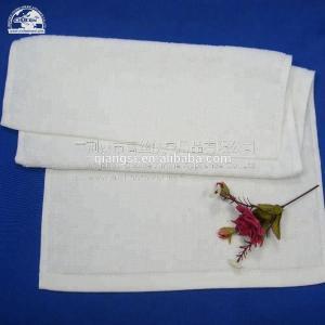 Quality Bleach Salon 145g/Pc White Cotton Face Towel for sale