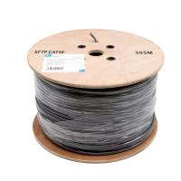 Quality PE Insulation Network Cat5e Sftp Cable / 100% Copper Lan Cables 305 M / Roll for sale