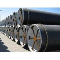 Quality ASTM A36 Double Submerged Arc Welded Pipe , Oil / Gas Steel Pipe For Construction for sale