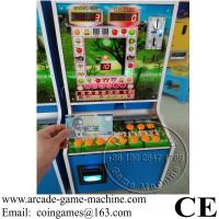Quality Accept Paper Money, Popular In Africa Roulette Jackpot Small Arcade Cabinet Slot Gambling Games Machine for sale