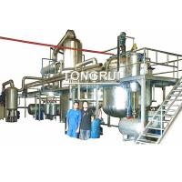 Quality Waste Engine Motor Oil Distillation Refinery to SN300 SN500 Oil Recycling Equipment for sale