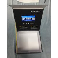 Quality Video Box LCD Video Brochure 7 Inch LCD Screen HD 8GB Memory Wooden Box Lighting Sensor for sale