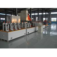 Quality Fully Automatical Precision Erw Tube Mill , High Speed MS Pipe Making Machinery for sale