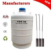 Quality Cryogenic freezer YDS-30L dewar vessel companies in China for sale