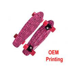 High quality truck can be OEM LOGO printing skateboard