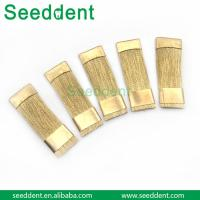 China Dental Cleaning Brushes for burs / Dental Lab Instrument / Dental Curved Brass Wire on sale