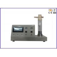Quality Limiting Oxygen Index Apparatus ISO 4589-2 ASTM D2863 With Smoke Density Tester for sale