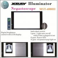 Quality 7 Level Digital Brightness Control X-ray Film Viewing Illuminator Mst-4000II Double Panels for sale