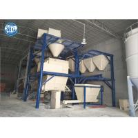 China Full automatic dry mortar production line for cement sand mixing and packing on sale