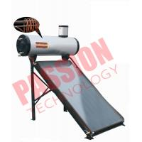 Quality 200L Integrated Pressure Copper Coil Pre Heated Solar Water heater Color Steel Type For Home for sale