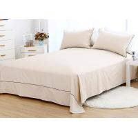 Quality 100% Cotton Luxury Sheet Sets 3 Pcs Multiple Colors Lightweight Fabric for sale