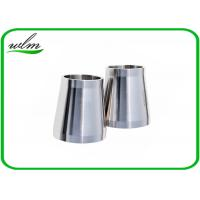 Quality Stain Finishing Eccentric Reducer Pipe Fitting For SS Sanitary Pipe Fittings for sale