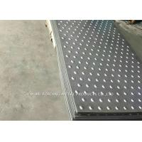 Quality 304 Checked Plate Stainless Steel Surface Finish For Construction Site for sale