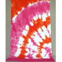 Quality Beach Bath Towels Ventilate Pink Yelow Color With 100% Cotton Fabric for sale
