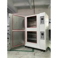 Buy Stackable Climatic Test Chamber Glass Fiber Insulation Single Stage Compression Refrigeration at wholesale prices