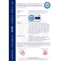 QINGDAO LAURENT NEW MATERIALS CO.,LTD Certifications