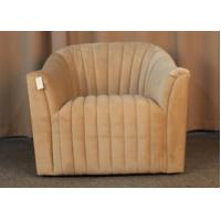Quality French Country Style Single Seater Living Room Couches Classic / Ancient One Person Sofa for sale