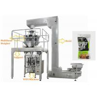 Quality Walnuts Ffs Packing Machine , Touch Screen Operate Automatic Pouch Packing Machine for sale