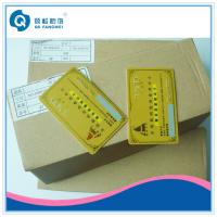 Quality Gold Hot Stamping Plastic Card Printing , CR80 PVC Business Card With Serial Number for sale