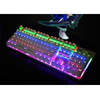 Quality Color Changing LED Backlit Keyboard Laptop Illuminated Keyboard Waterproof for sale